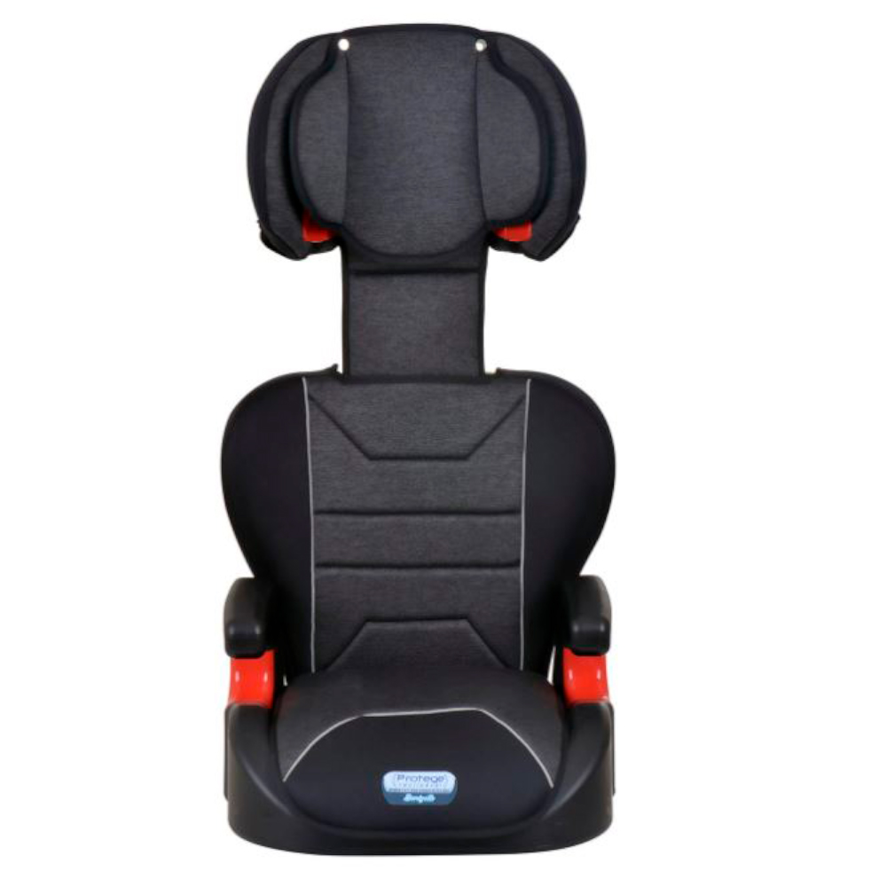 Cadeira Protege Reclinável 15-36kg Mesclado Preto - Burigotto