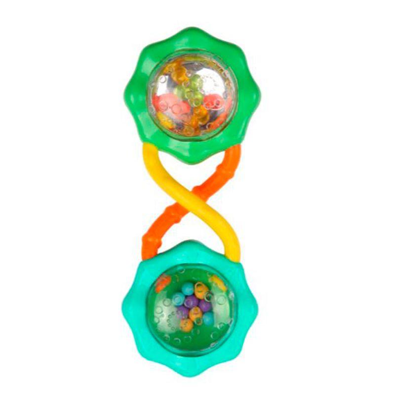 Chocalho Rattle e Shake Barbell Green - Bright Starts