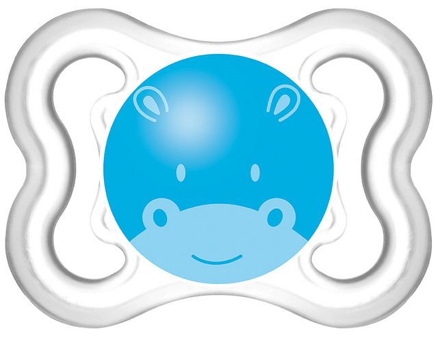 Chupeta Air Silk Touch 0-6m Hipopótamo - MAM