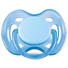 Chupeta Freeflow 6-18m 1 un. Azul (SCF178/14) - Avent