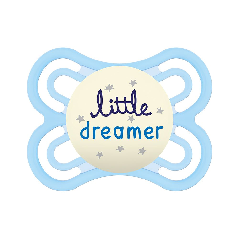 Chupeta Perfect Night 0-6m Little Dreamer com caixinha Azul - MAM