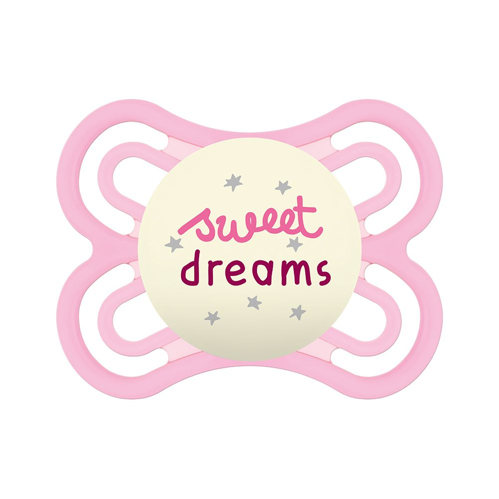 Chupeta Perfect Night 0-6m Sweet Dreams Rosa - MAM