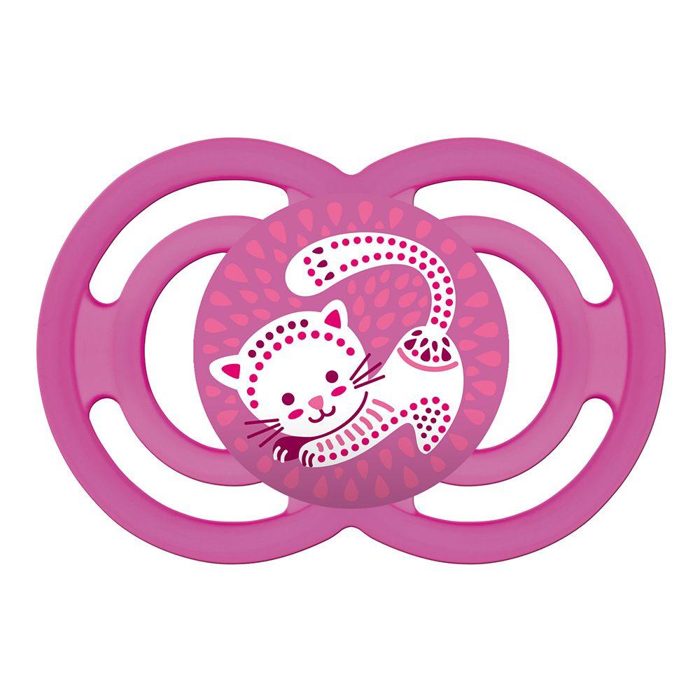 Chupeta Perfect Silk Touch 6m+ Rosa - MAM