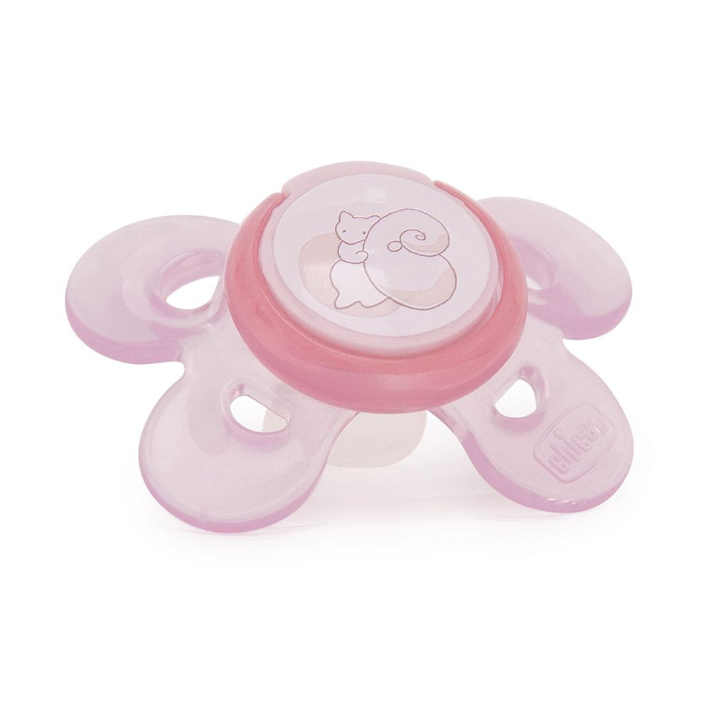 Chupeta Physio Comfort Rosa 0-6m - Chicco