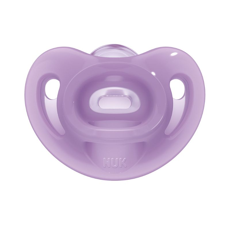 Chupeta Sensitive Soft Silicone Girl S2 6m+ (2 unid) - NUK