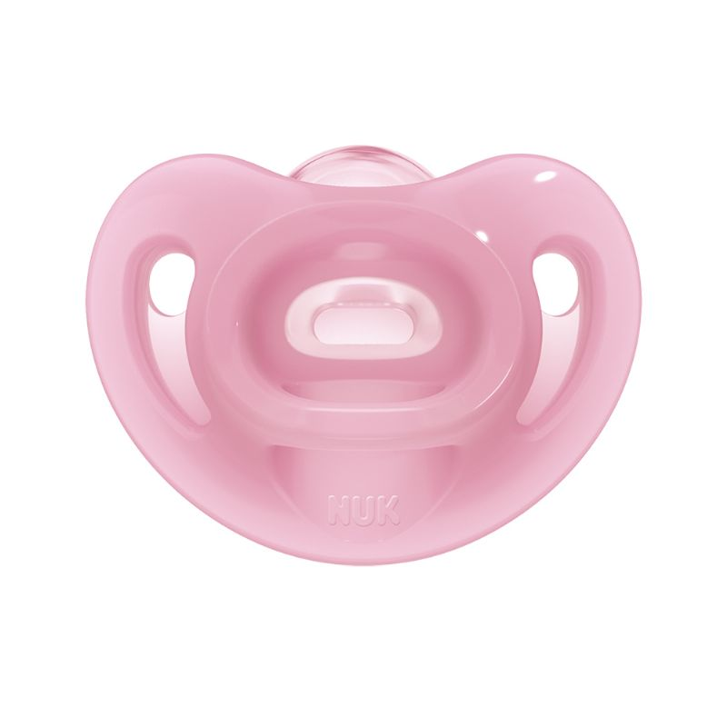 Chupeta Sensitive Soft Silicone Girl 6m+ S2 - NUK