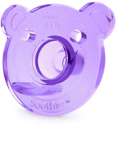 Chupeta Soothie 0-3m Rosa/Roxa (SCF194/02) - Avent