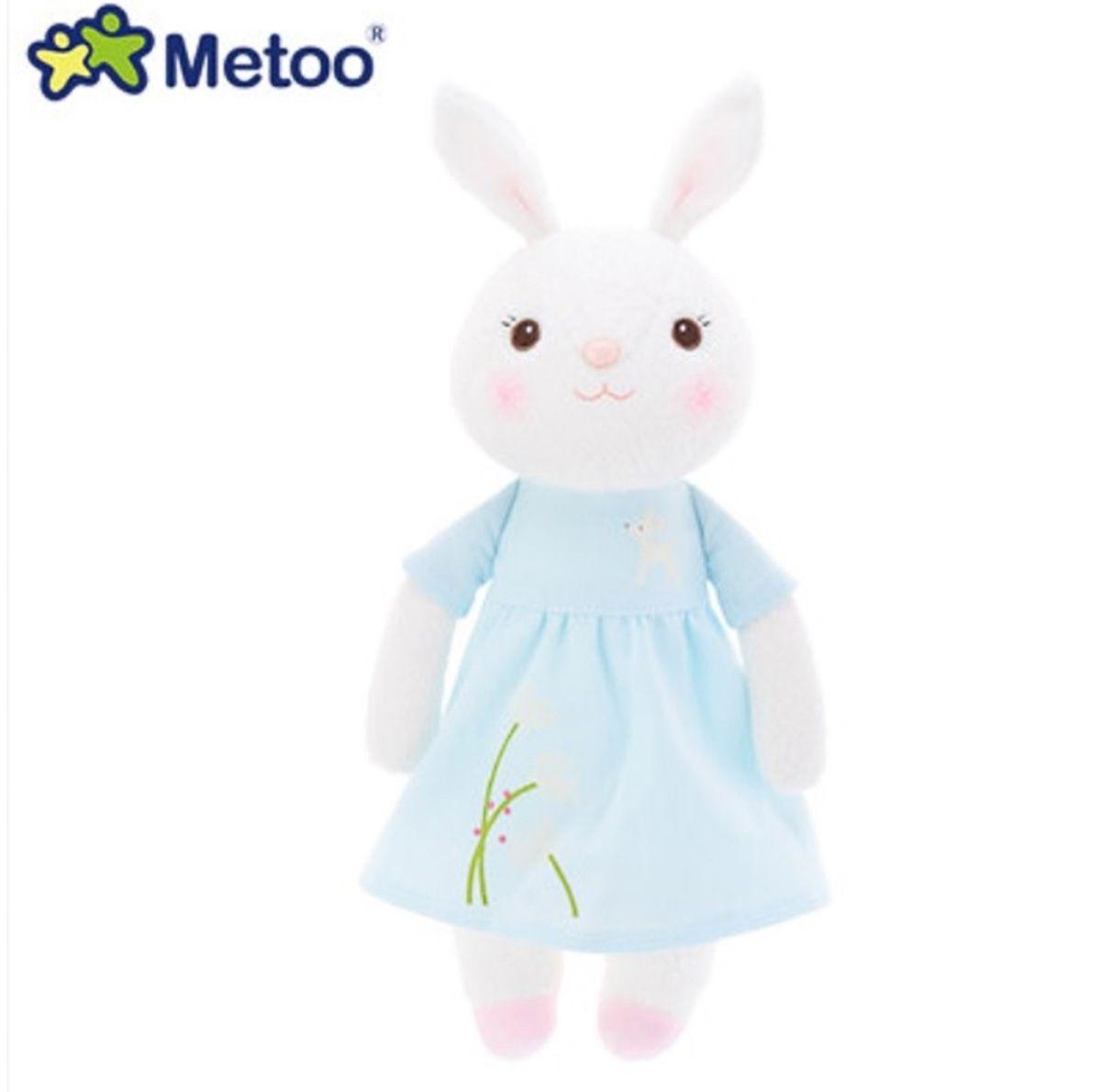 Coelha Primavera Azul 30cm - Metoo