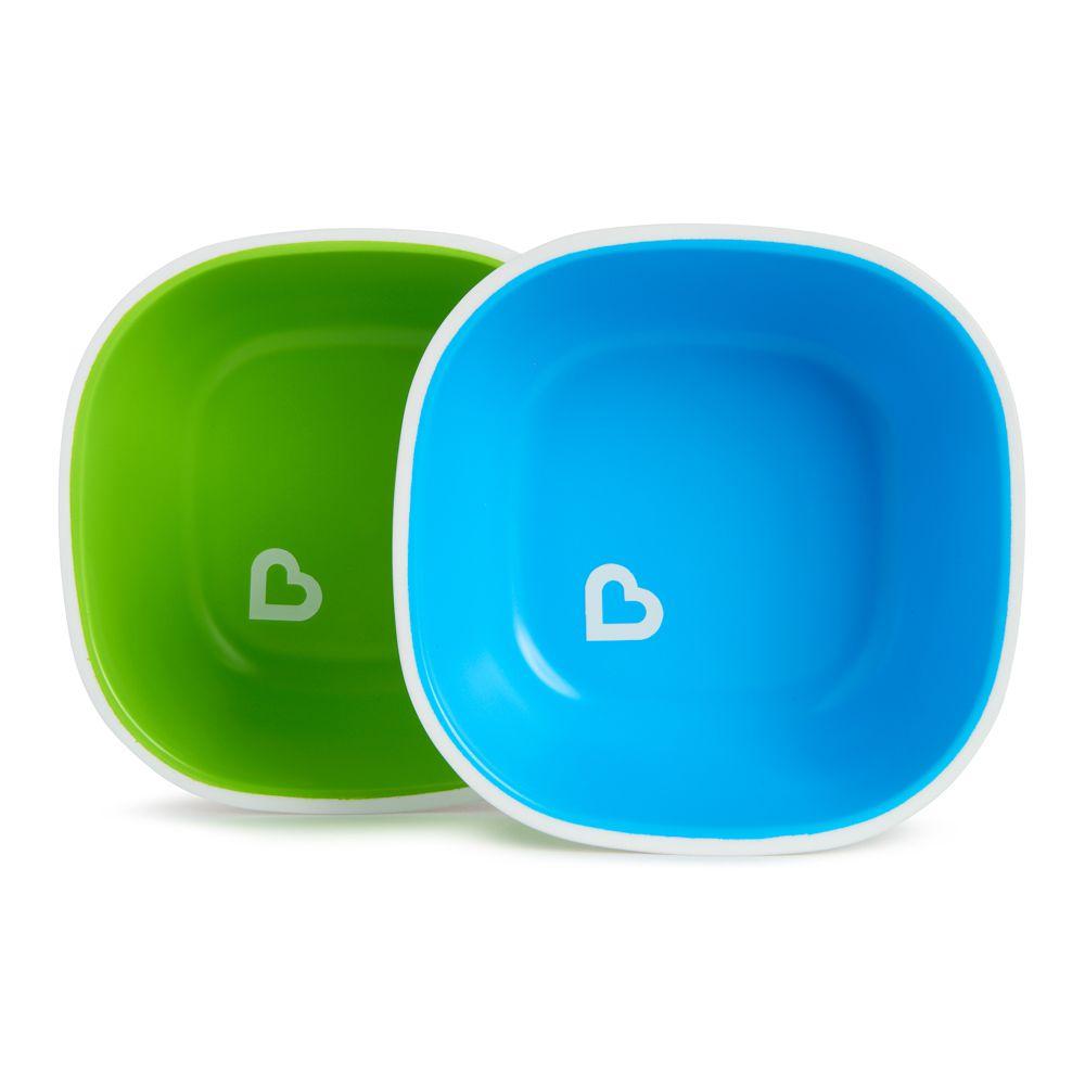 Conjunto de Tigelas Azul/Verde (2 unidades) - Munchkin