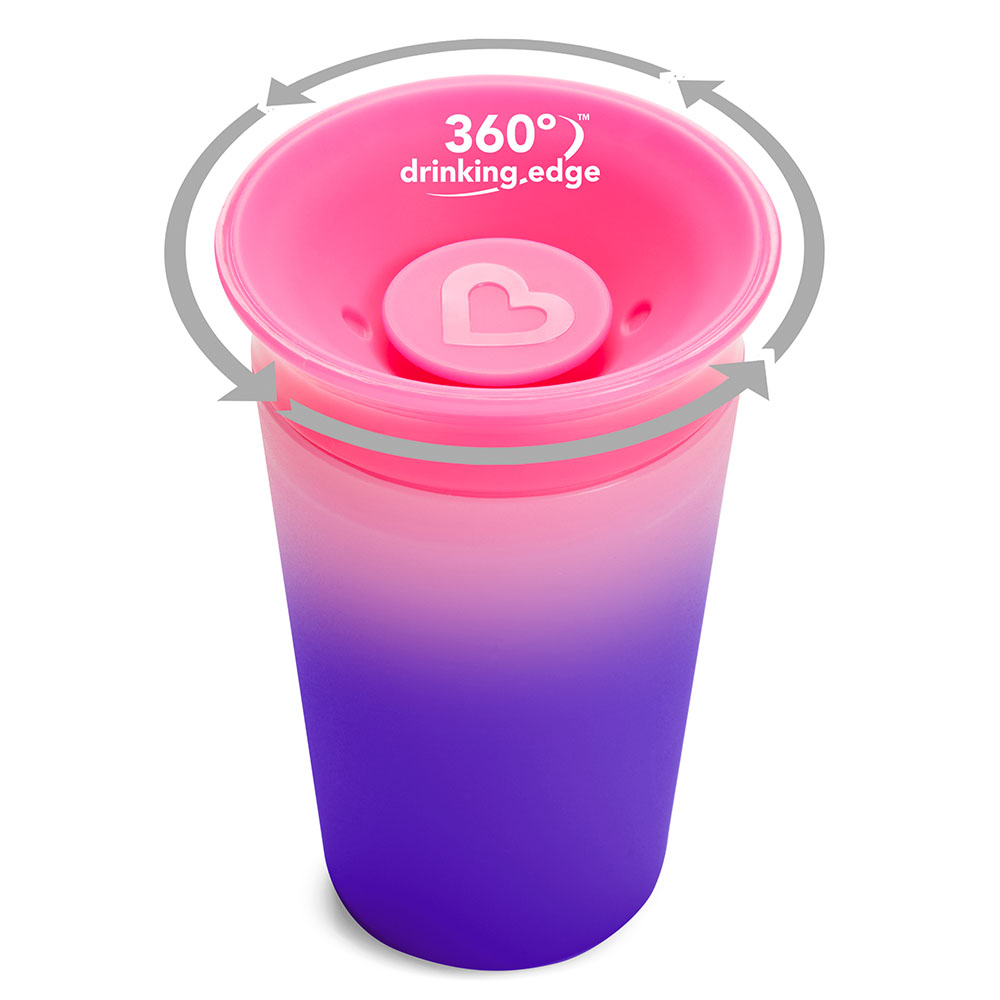 Copo 360º Changing Color Rosa - Munchkin