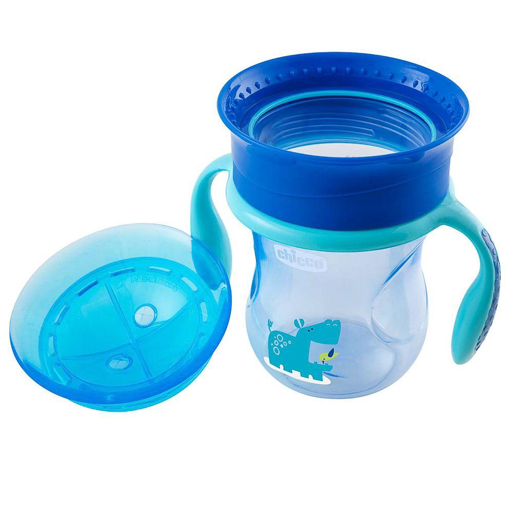 Copo 360º Perfect Cup 12m+ Azul - Chicco