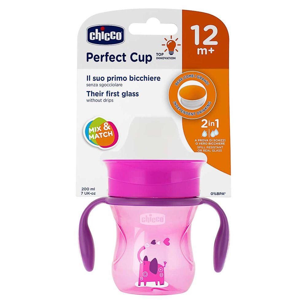 Copo 360º Perfect Cup 12m+ Rosa - Chicco