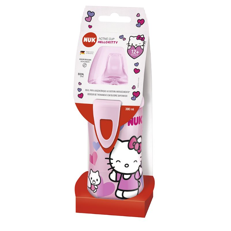 Copo Active Cup FC Hello Kitty 300ml - NUK