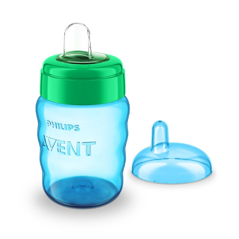 Copo Easy Sip Cup Bico Silicone Azul 260ml (SCF553/05) - Philips Avent