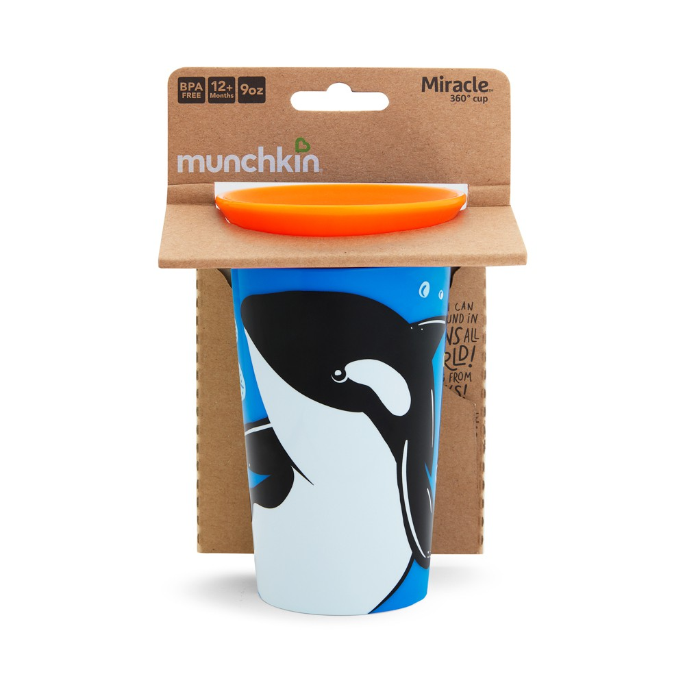 Copo Grande 360 Wild Baleia - Munchkin