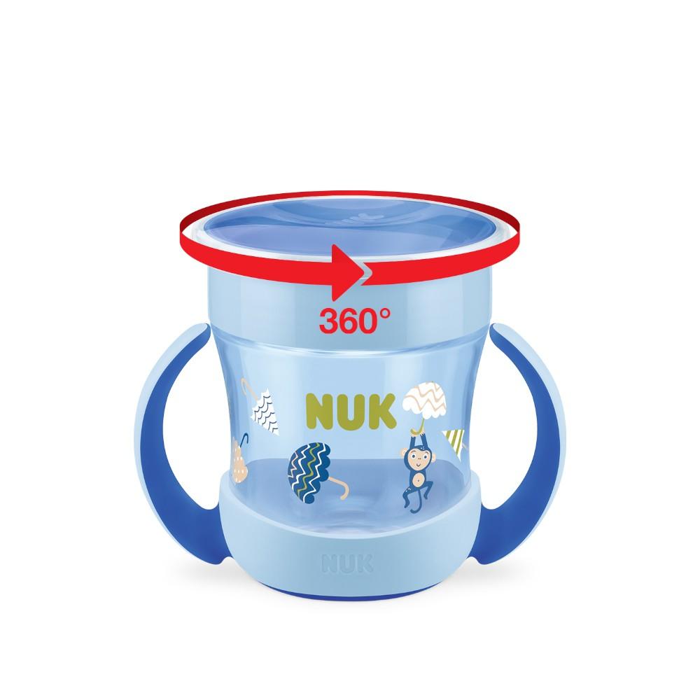 Copo Mini Magic Cup 360 Evolution 160ml Boy - NUK