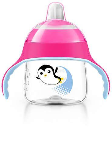 Copo Pinguim 200ml Rosa (SCF751/07) - Avent