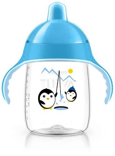 Copo Pinguim 340ml Azul (SCF755/05) - Avent