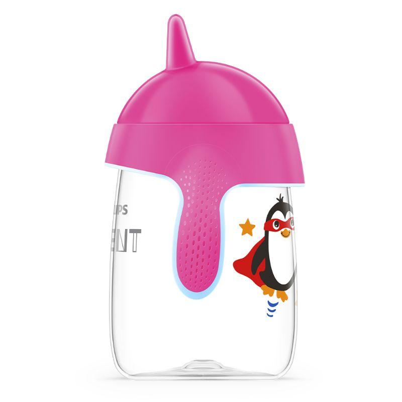 Copo Pinguim 340ml Rosa (SCF755/07) - Avent