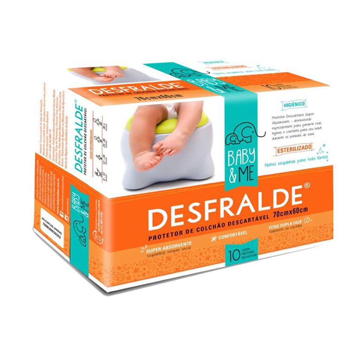 Desfralde Pacote c/10 un - Baby and Me