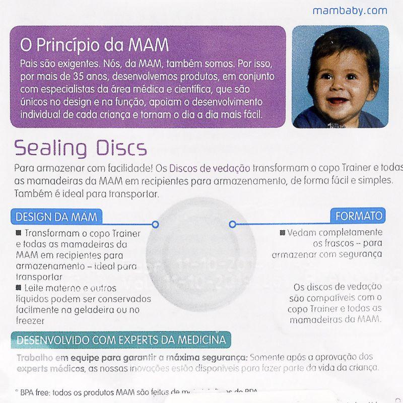 Discos de Vedação 3 unidades - MAM
