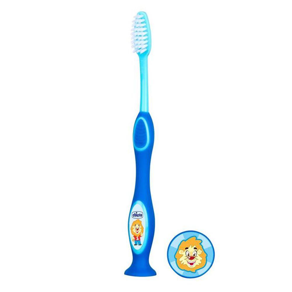 Escova de Dentes 3-6 anos Azul - Chicco