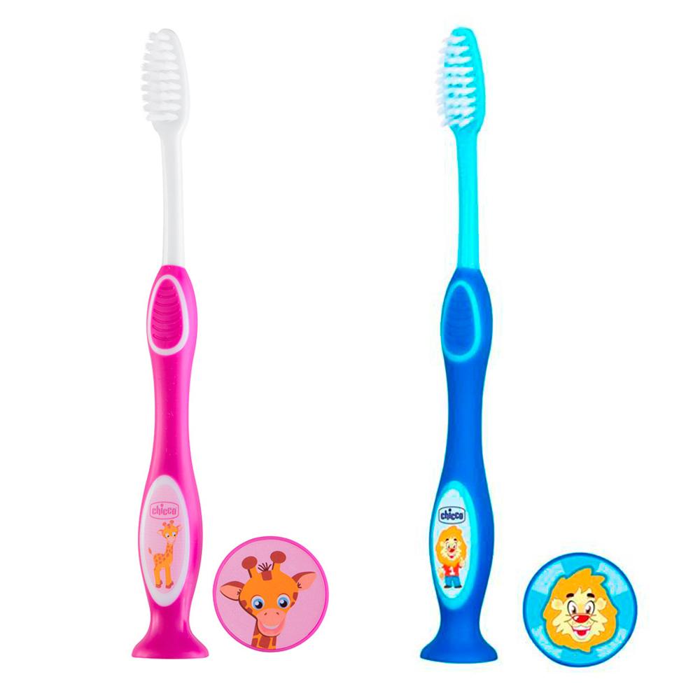 Escova de Dentes Infantil de 3 até 6 anos Chicco