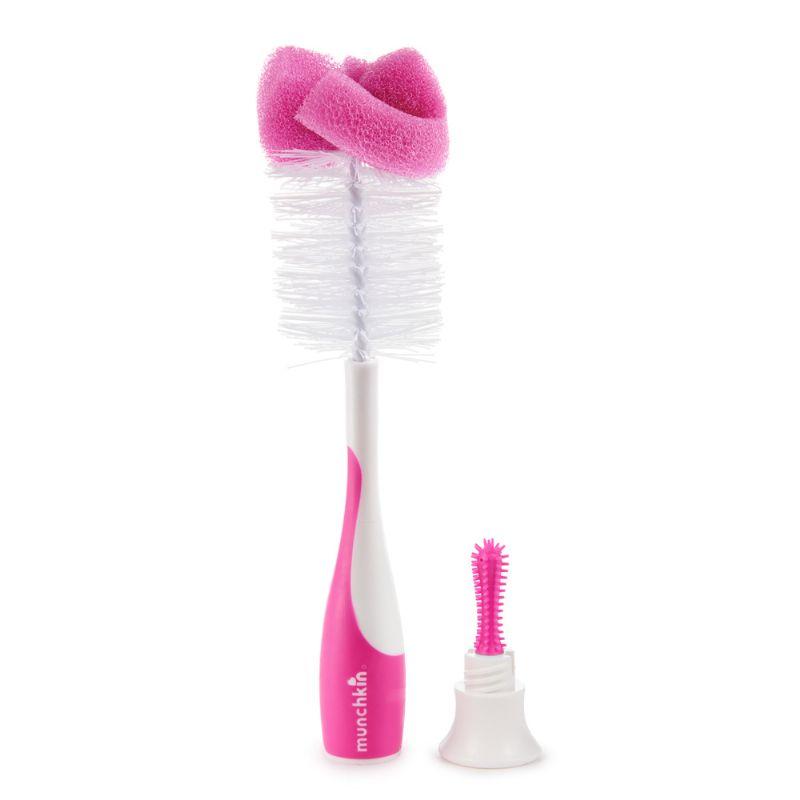 Escova para Mamadeiras Rosa - Munchkin