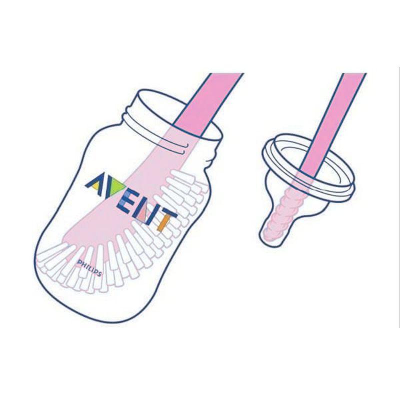 Escova para Mamadeiras Rosa (SCF145/07) - Philips Avent