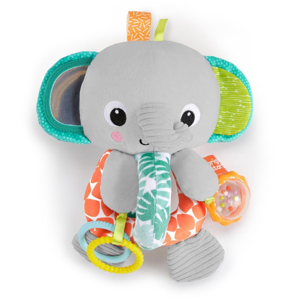 Brinquedo de Pelúcia Elefante Explore & Cuddle Elephant - Bright Starts