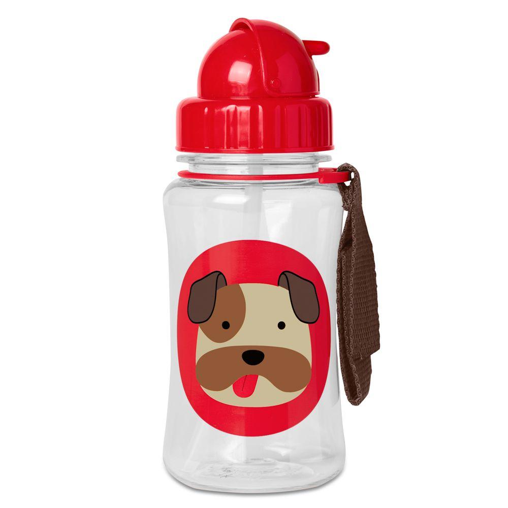 Garrafa com Canudo Zoo Bulldog - Skip Hop