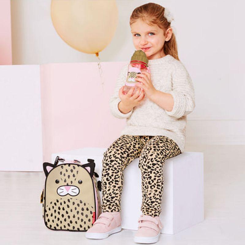 Garrafa com Canudo Zoo Leopardo - Skip Hop