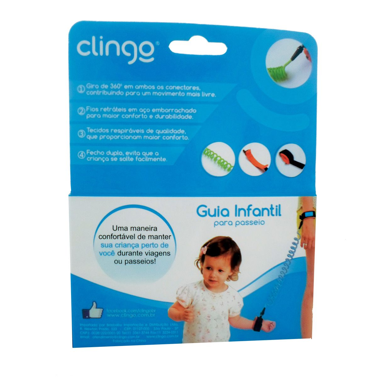 Guia Infantil para Passeio Azul - Clingo