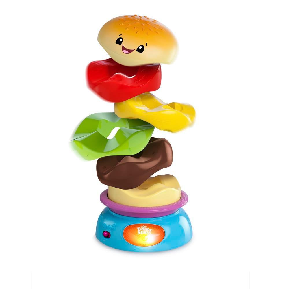 Hamburguer Stack´n Spin Burger - Bright Starts