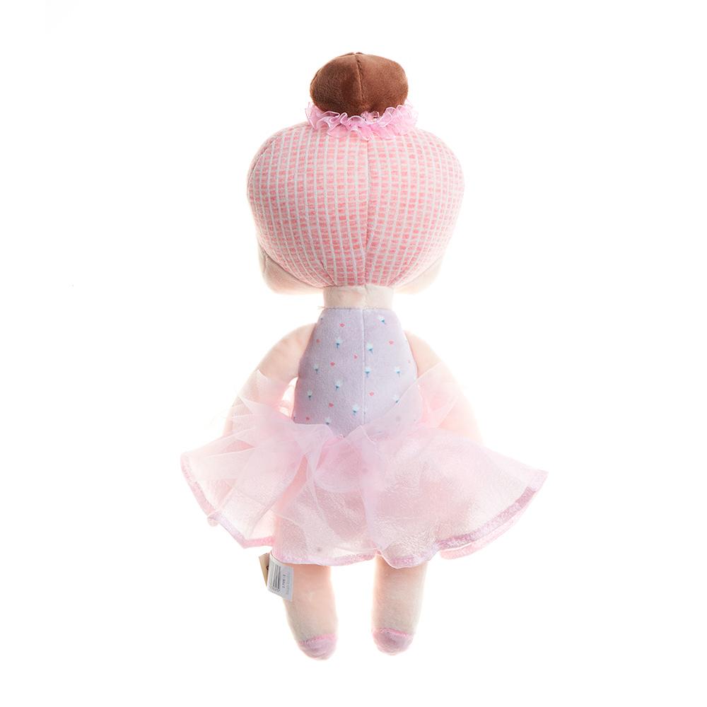 Kit 2 Bonecas Metoo Angela Lai Ballet Rosa 33cm e 20cm