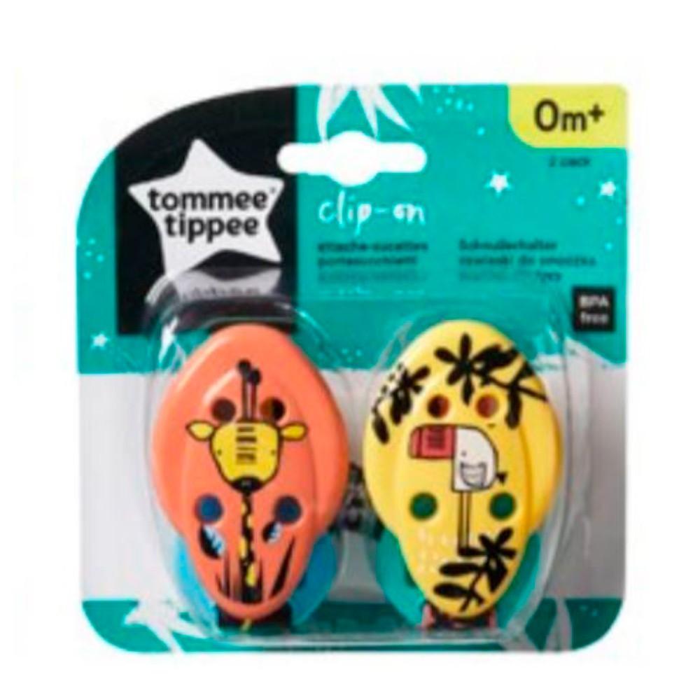 Kit 2 Prendedores de Chupeta - Tommee Tippee
