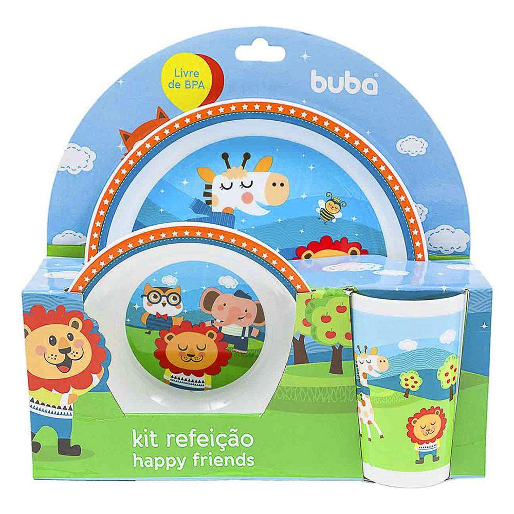 Kit Refeição Happy Friends - Buba