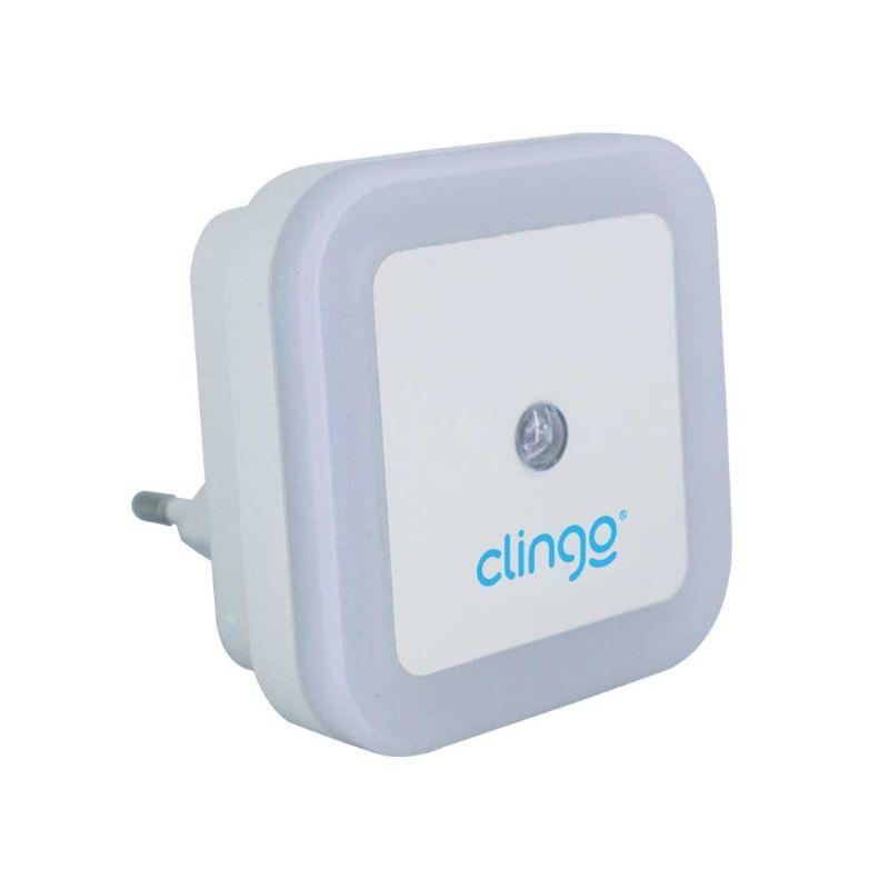 Luminaria Led com sensor square bi-volt - CLINGO