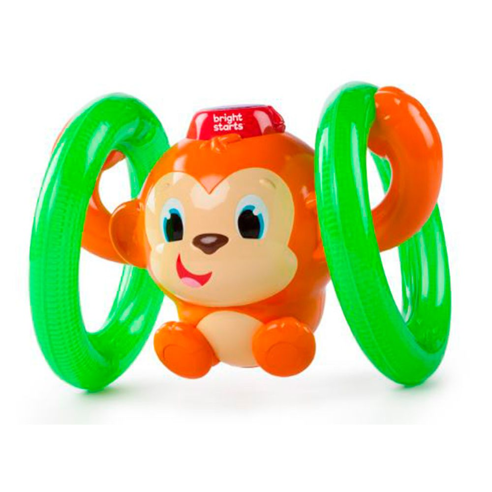 Macaquinho Roll e Glow Monkey - Bright Starts