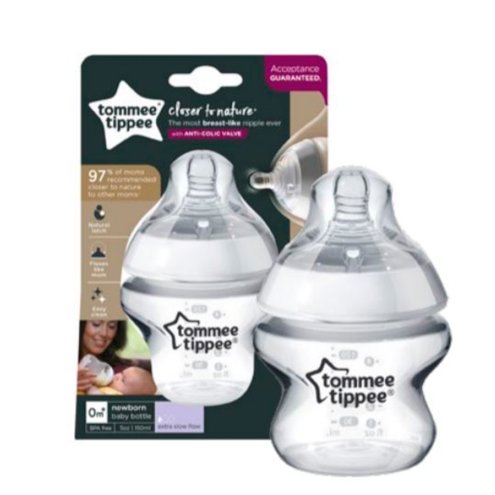 Mamadeira Closer to Nature 150ml Neutra - Tommee Tippee