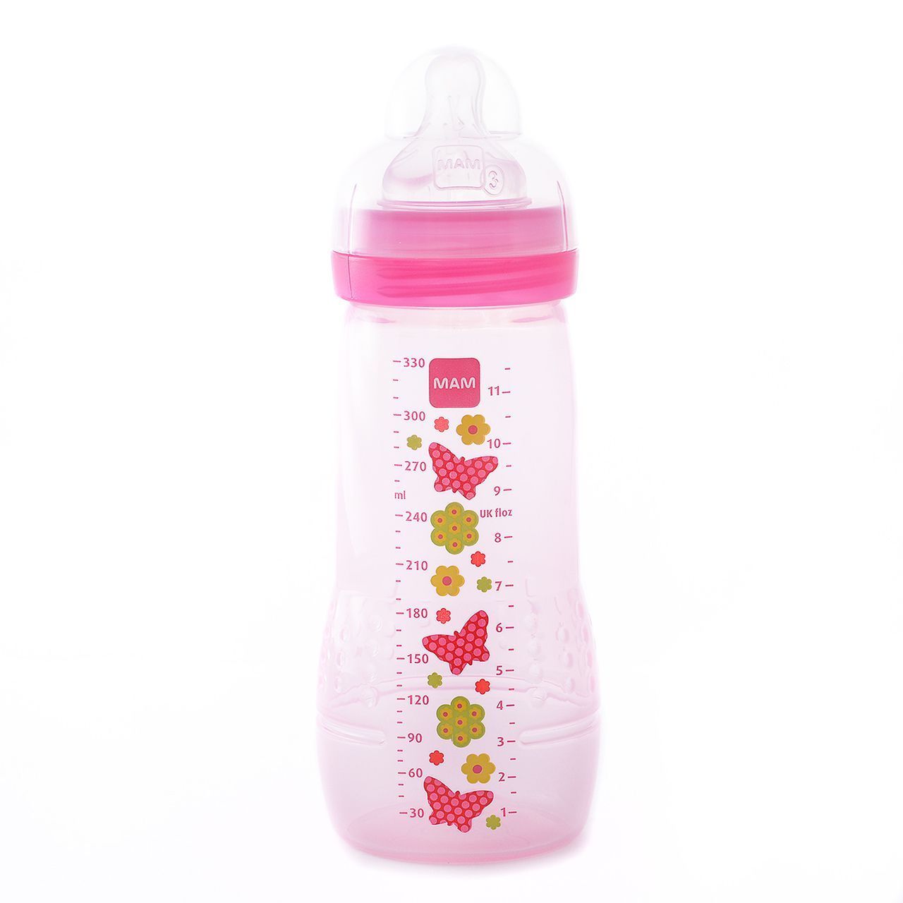 Mamadeira Fashion Bottle 330ml Girls - MAM