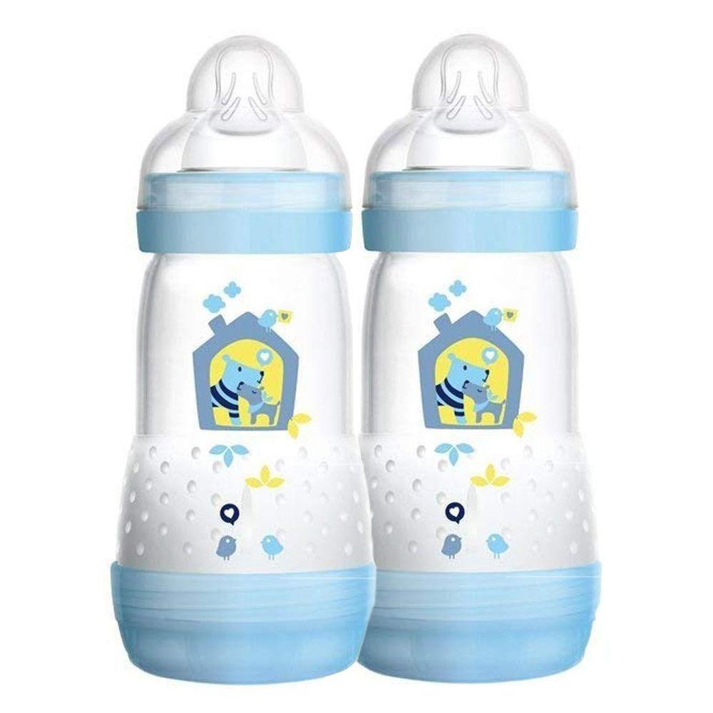 Mamadeira First Bottle 260ml Boys 2 unid. - MAM