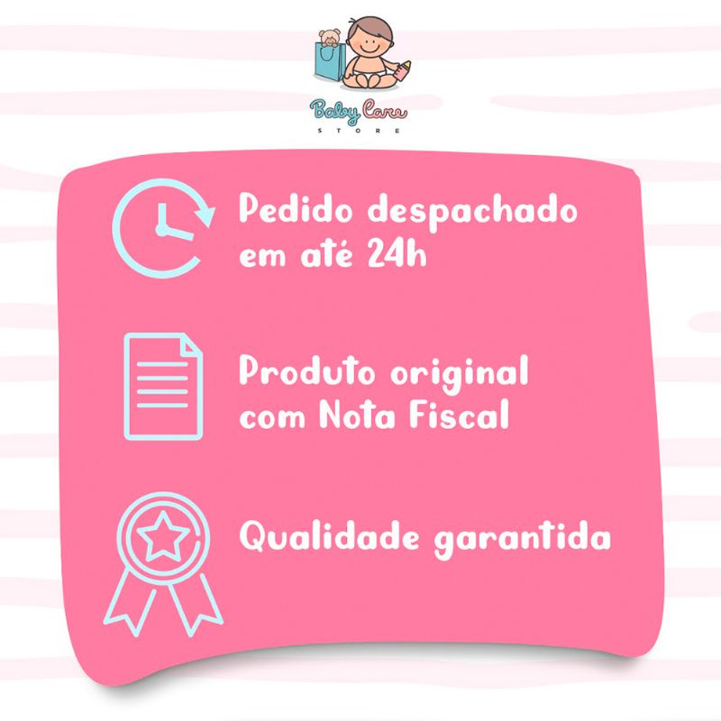 Manta com Naninha Ovelhinha Rosa - Buba