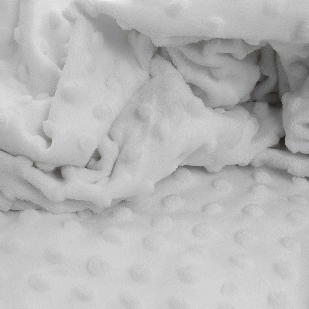 Manta Popcorn Branca - Infanti