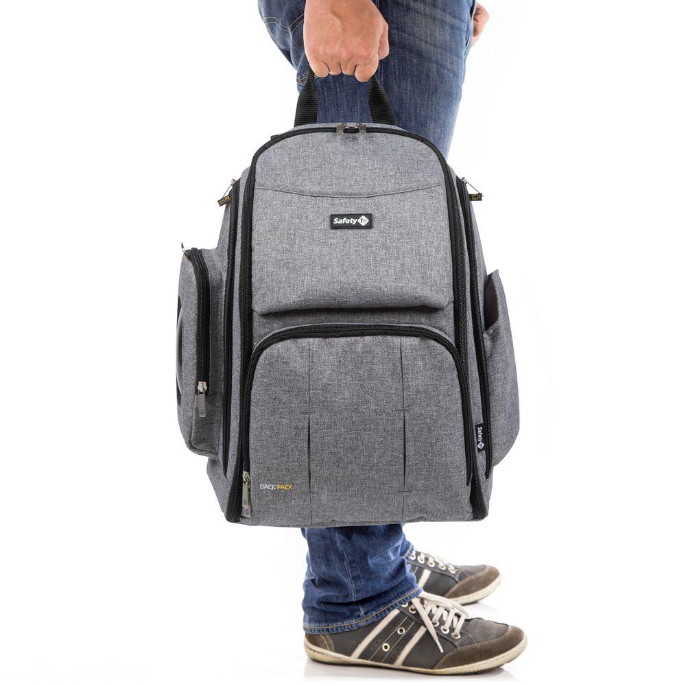 Mochila Back Pack Grey - Safety 1st