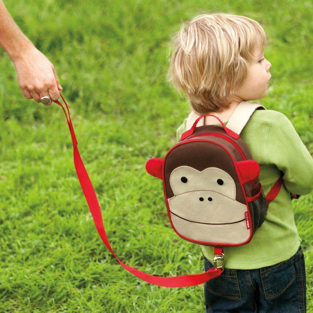 Mochila com Guia Zoo Macaco - Skip Hop