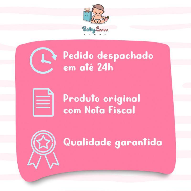 Mordedor Chocalho Mamadeira Rosa - Buba