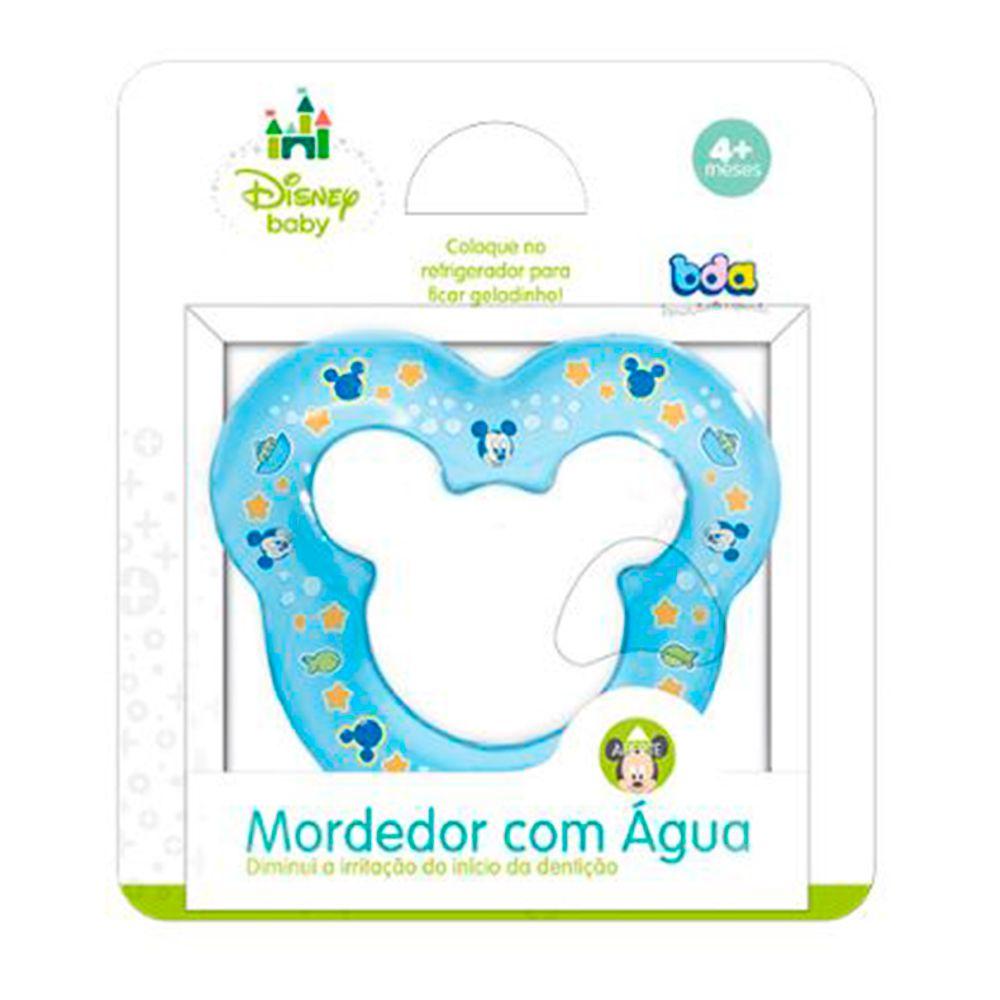 Mordedor com Água Disney Baby Conforto - Toy Azul