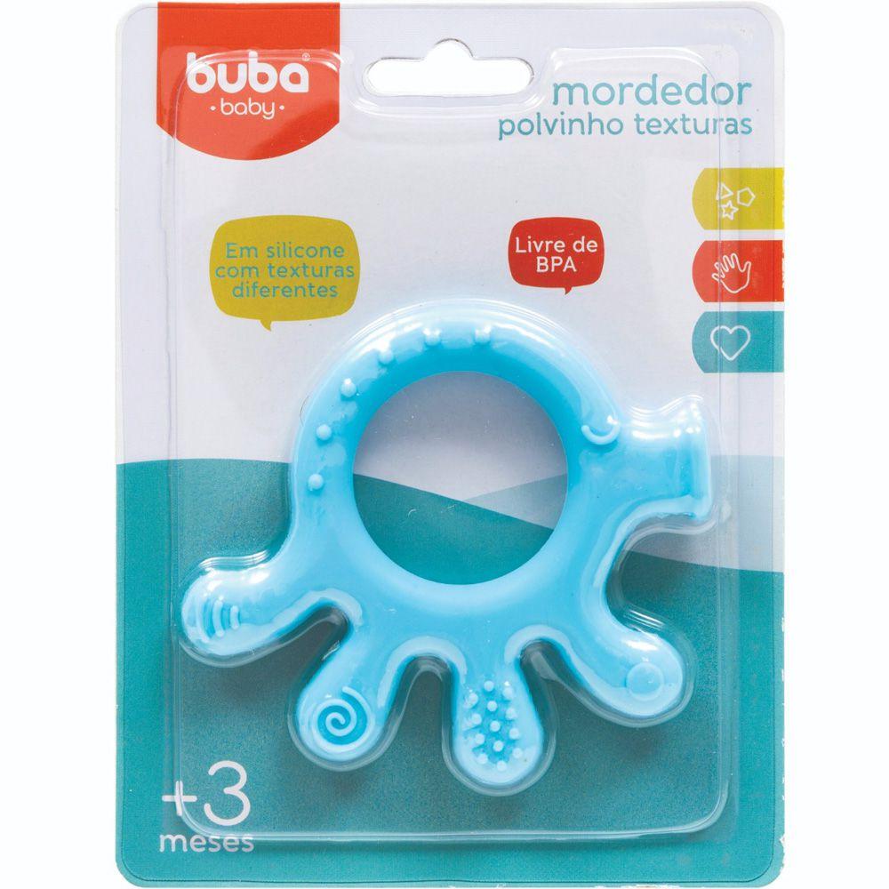Mordedor Polvinho Texturas Azul - Buba