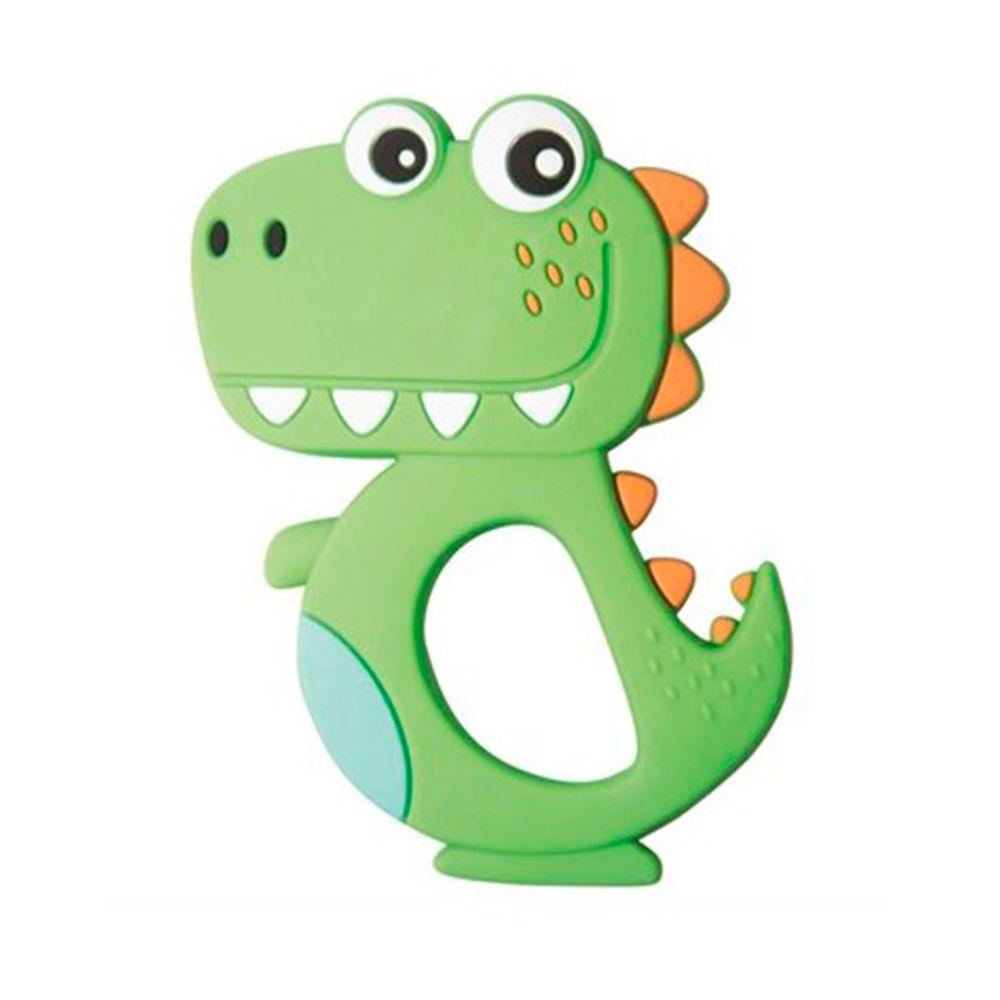 Mordedor Silicone Dino Verde - Girotondo Baby